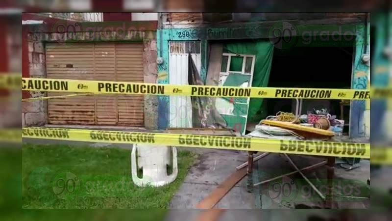 Matan a una mujer y le prenden fuego a su domicilio en Morelia
