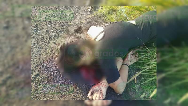 Asesinan a balazos a una mujer en Buenavista; es la número 92 en lo que va del año