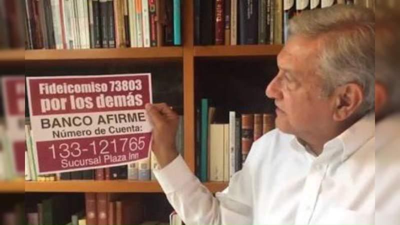 Morena usó fideicomiso para damnificados del sismo del 19S para financiar campañas: INE
