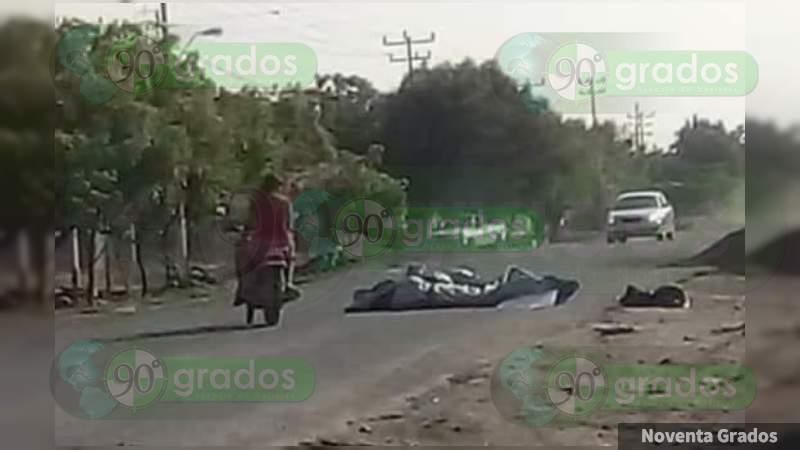 Descuartizados y con narcomensajes dejan a pareja en Buenavista Tomatlán, Michoacán