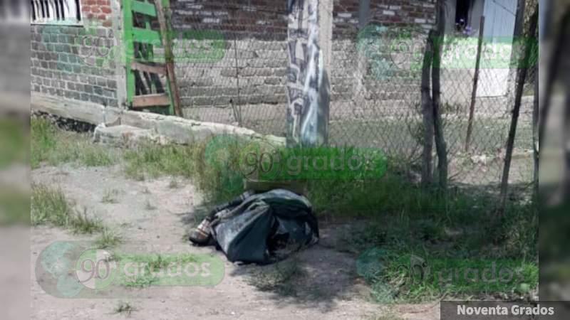 Muerta y con narcomensaje en Apatzingán, es la joven víctima número 97 en Michoacán