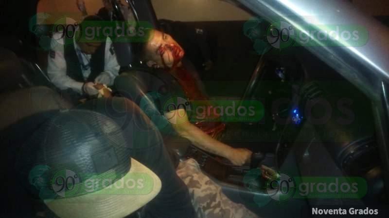 Dos muertos y un herido en ataque a balazos en Morelia, Michoacán