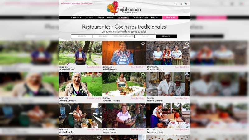 Tarhiata 2021, estrategia turística de vanguardia que impulsa Michoacán