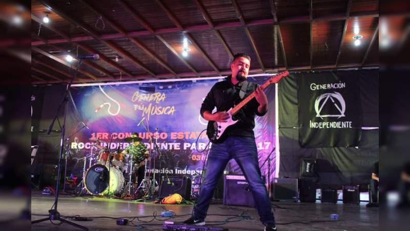 Paracho sede del Segundo Concurso Estatal de Rock