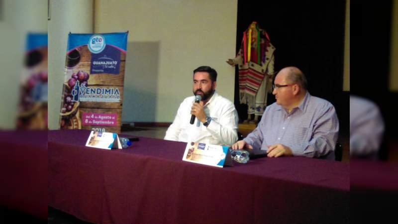'Vendimia' del 4 de agosto al 8 de septiembre en Guanajuato, promueve los vinos de la región