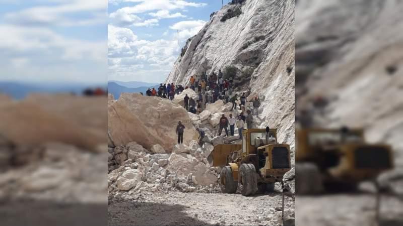 Se derrumba mina en Hidalgo, hay tres muertos