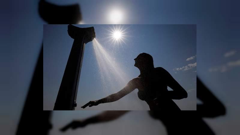 Ola de calor y lluvias se mantendrán en la mayor parte del país