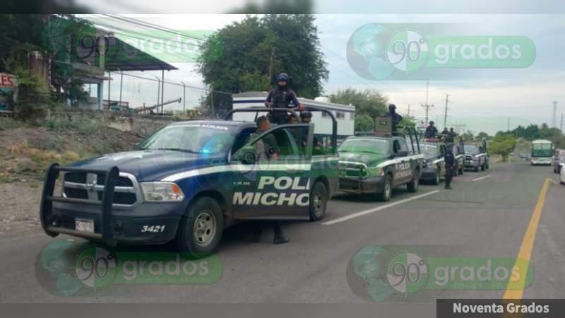 Libera SSP vialidades en Tierra Caliente de Michoacán