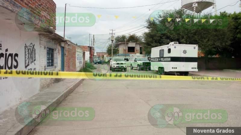 Frente a módulo de la Policía asesinan a un hombre en Villagrán, Guanajuato
