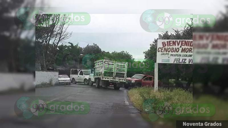 Continúan bloqueos carreteros en Buenavista