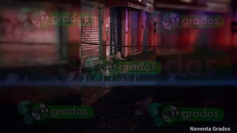 Ejecutan a un hombre en una avenida de Celaya, Guanajuato