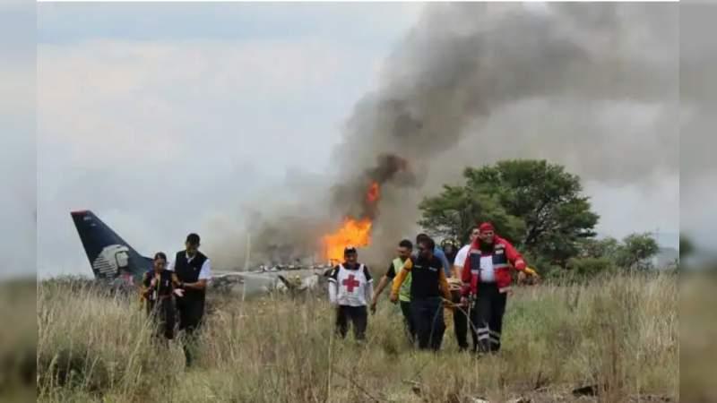 Ciudadanos estadounidenses demandan a Aeroméxico por accidente aéreo