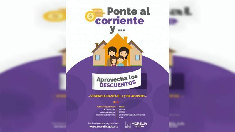 Ayuntamiento De Morelia Invita A La Ciudadanía A Aprovechar