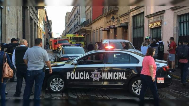 Se incendia local en la Plaza de la Tecnología de Morelia