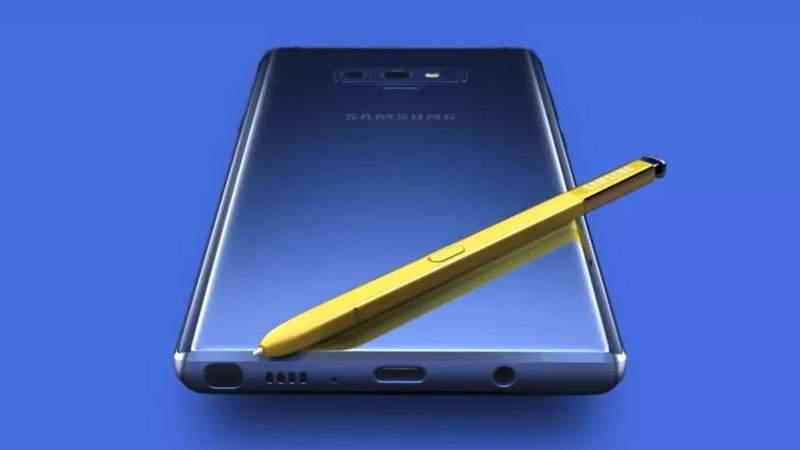 Presentan el Samsung Galaxy Note 9