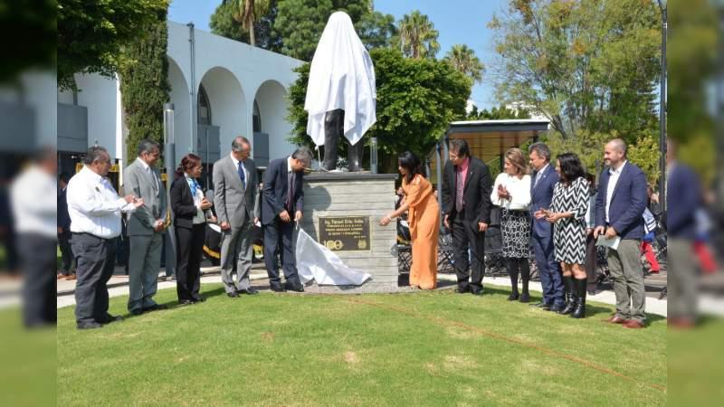 Remodelado el acceso principal de Ciudad Universitaria y reubicada la estatua de Pascual Ortiz Rubio