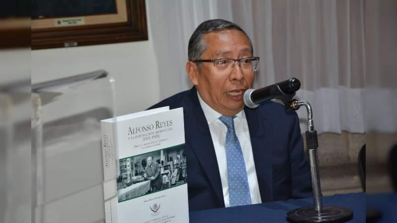 Todo lo construido entre la UMSNH y Alfonso Reyes, constituye un valioso legado para México: Alberto Enríquez Perea