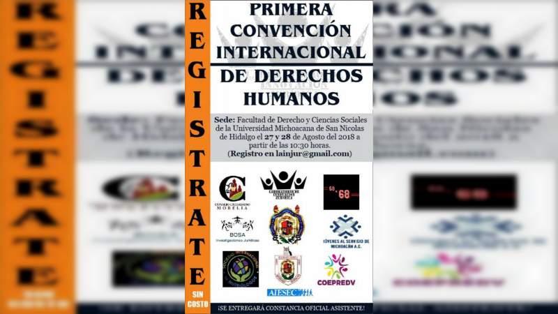 Convención Internacional de Derechos Humanos en la UMSNH