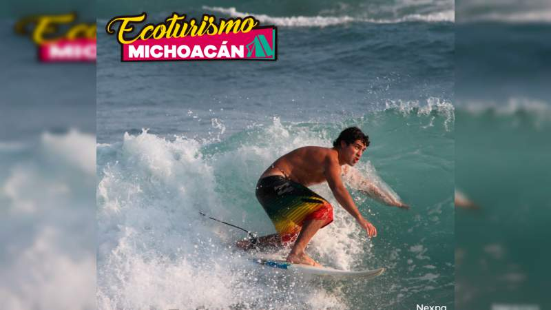 Michoacán con playas ideales para surfear