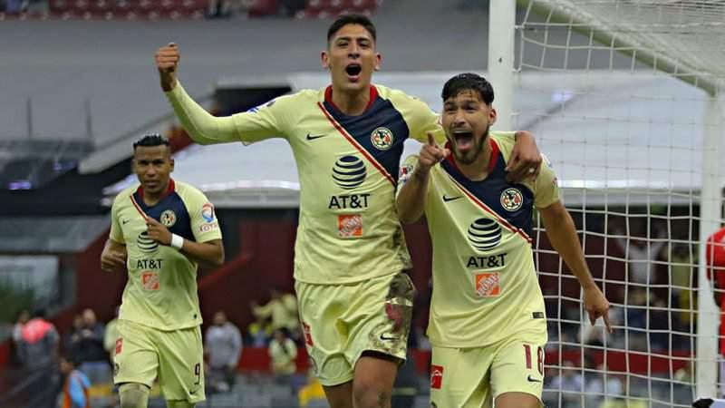 América goleó y pulverizó a Monterrey en el Azteca