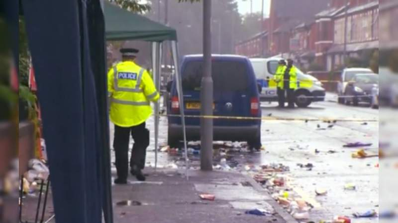 Tiroteo en carnaval de Manchester deja al menos 10 heridos