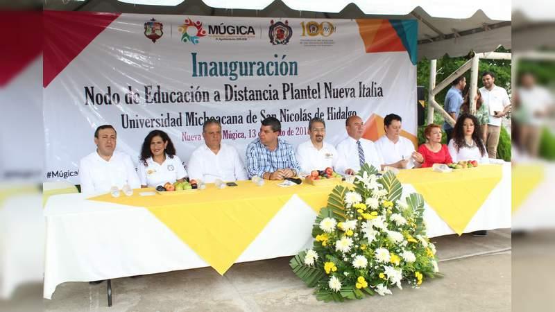 En Múgica las carreras de Informática Administrativa, Contaduría, Derecho y Administración, oferta la Casa de Hidalgo