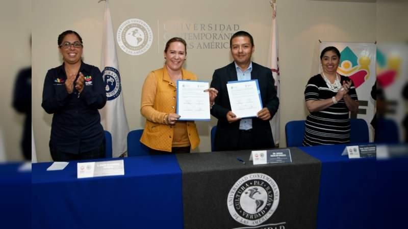 Sistema DIF Michoacán y la UCLA unen esfuerzos con prestadores de servicios
