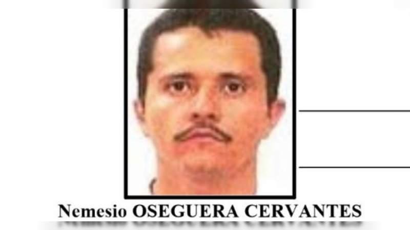 """PGR aumenta a 30 millones de pesos la recompensa por Nemesio Oseguera """"El Mencho"""""""
