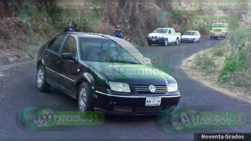 Acribillan a dos en coche en Irapuato, Guanajuato