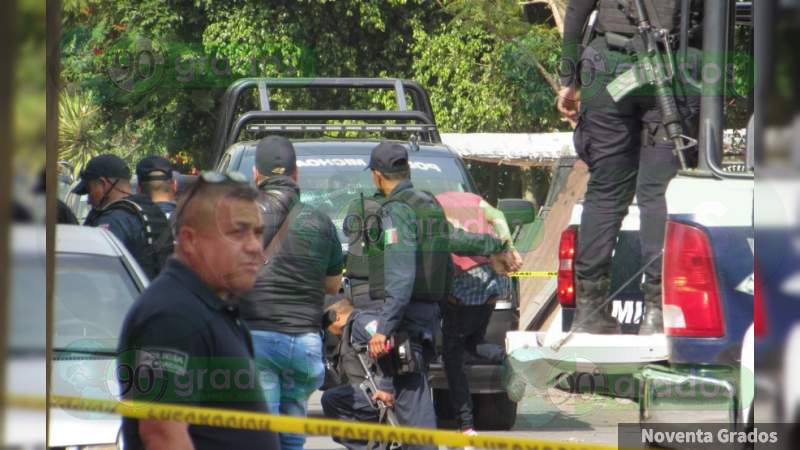 Lo asesinan a tiros dentro de casa en Salvatierra, Guanajuato