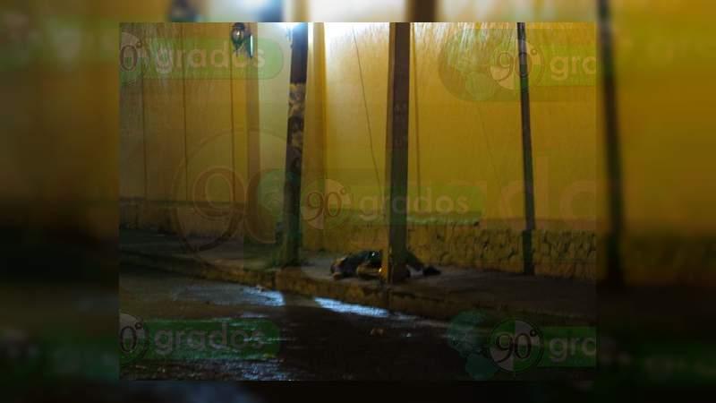 Asesinan a vendedor de tostadas en Jacona, Michoacán