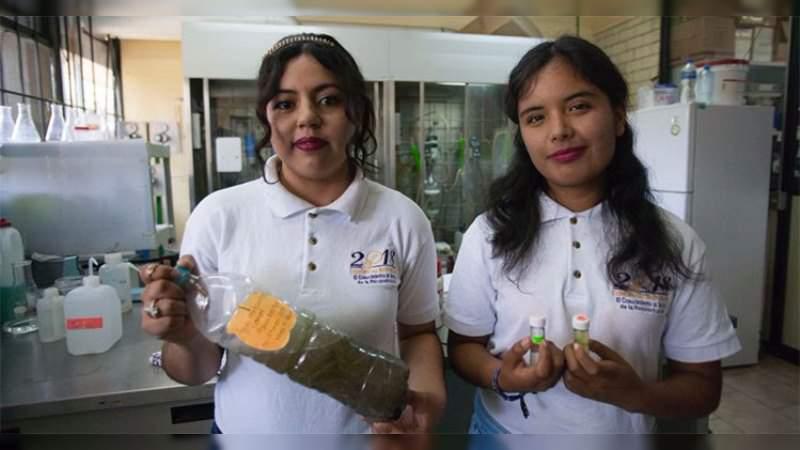 Estudiantes del IPN transforman aguas negras en combustible limpio