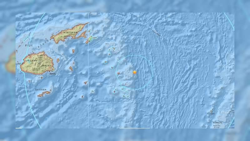 Registran sismo de 8.2 grados en el Océano Pacífico
