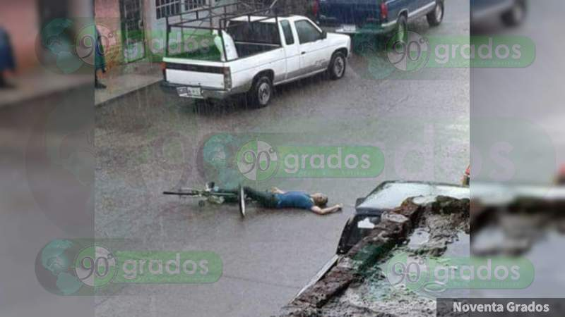 Ejecutan a un ciclista sobre la Celaya - Salvatierra, en Guanajuato