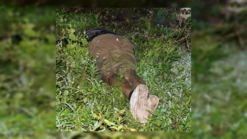 Asesinan a balazos a un albañil en Zamora, Michoacán