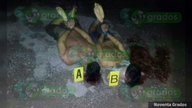 Eran taxista y su pasajero secuestrados, los ejecutados en terracería en Zumpango, Eduardo Neri, en Guerrero