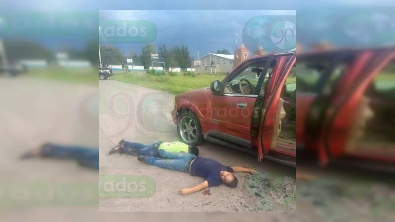 Asesinan a seis hombres en Apaseo el Alto, Guanajuato