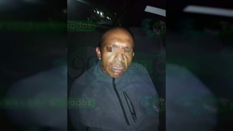 Detienen a un hombre en posesión de metanfetamina en Zitácuaro