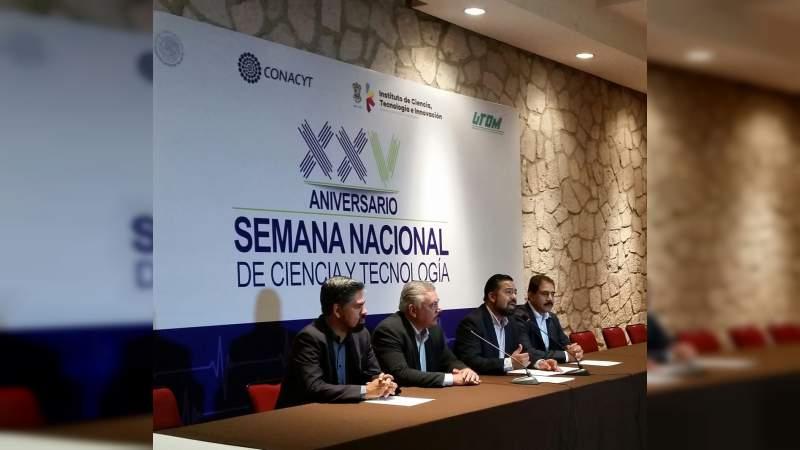 Activa Sesión de Trabajo el Comité Organizador de la  Semana Nacional de Ciencia y Tecnología en Michoacán