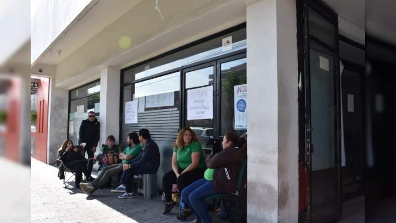 Staspe toma las oficinas de renta en Michoacán