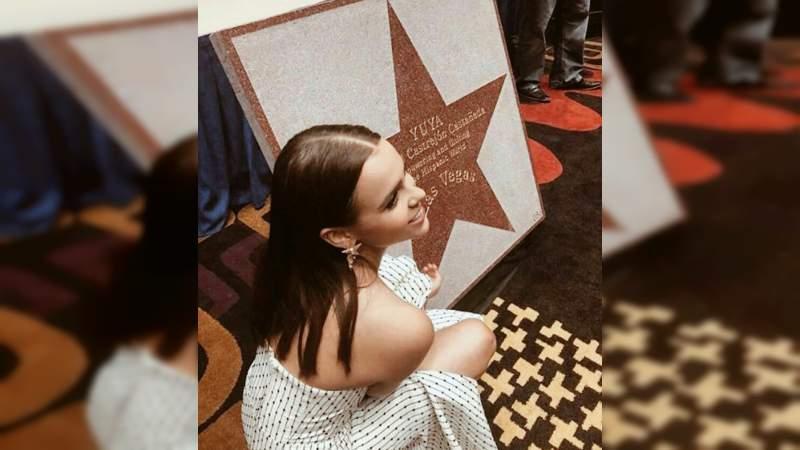 Yuya ya tiene su estrella en Las Vegas
