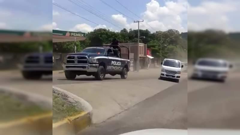 Por inseguridad suspenden clases en Parácuaro hasta nuevo aviso
