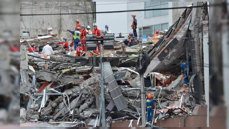 #Crónica: 19 de septiembre a un año del temblor que sacudió a México en todos los sentidos