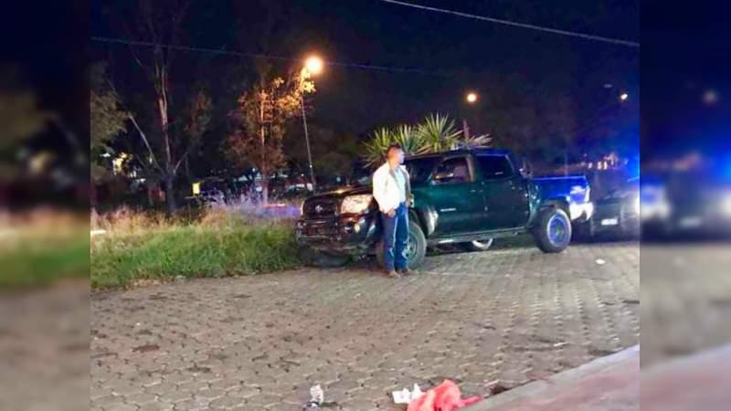 En un presunto asalto atacan a tiros a un individuo en Morelia, Michoacán