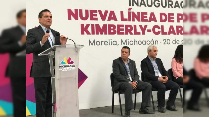 Michoacán con crecimiento económico: Gobernador