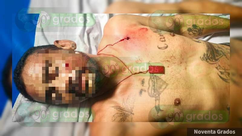 Atacan a tiros a un individuo en Zamora, Michoacán