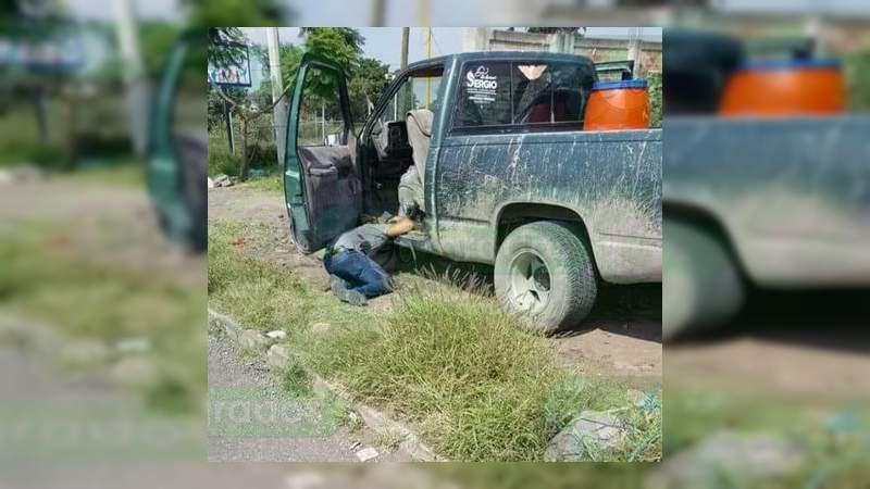 En media hora asesinan a un vendedor y otro hombre en Sahuayo, Michoacán
