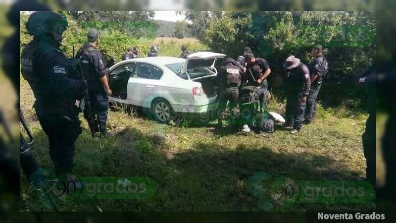 Detienen en Chavinda a tres tras balear a Ejército y Policía Michoacán