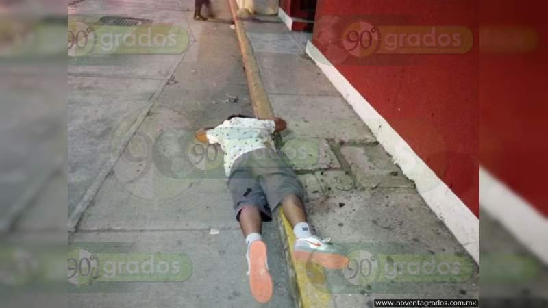 Lo ejecutan en calles de Acapulco, Guerrero