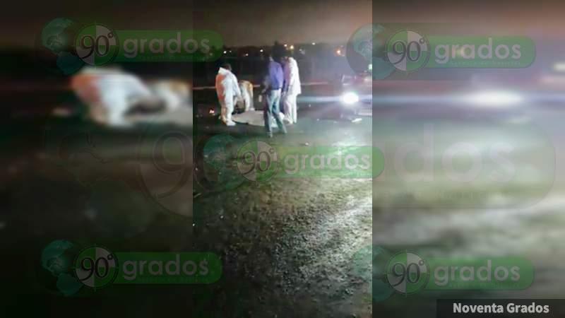 Muere motociclista al ser atropellado en Morelia, Michoacán